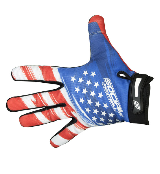 Grit Gloves, USA Flag