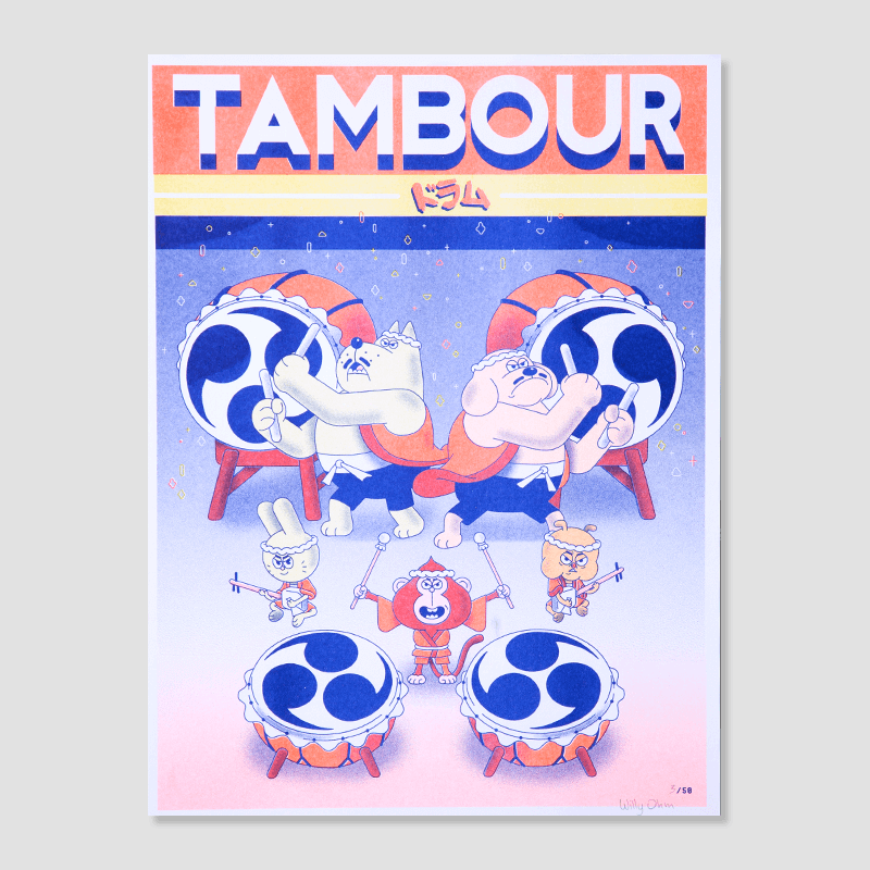 Willy Ohm<br>Taiko : Tambour