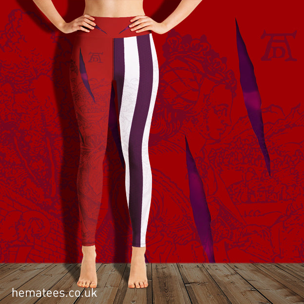Women's Yellowhammer Goliath inspired leggings - Hematees