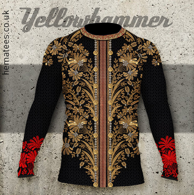 Mens Yellowhammer Hussar rashguard