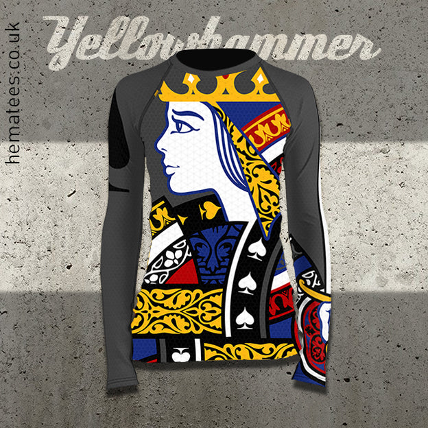 Women's Queen of Spades Rashguard