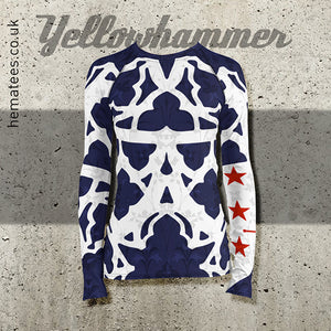 Women's Yellowhammer Custom CKDF Rash Guard