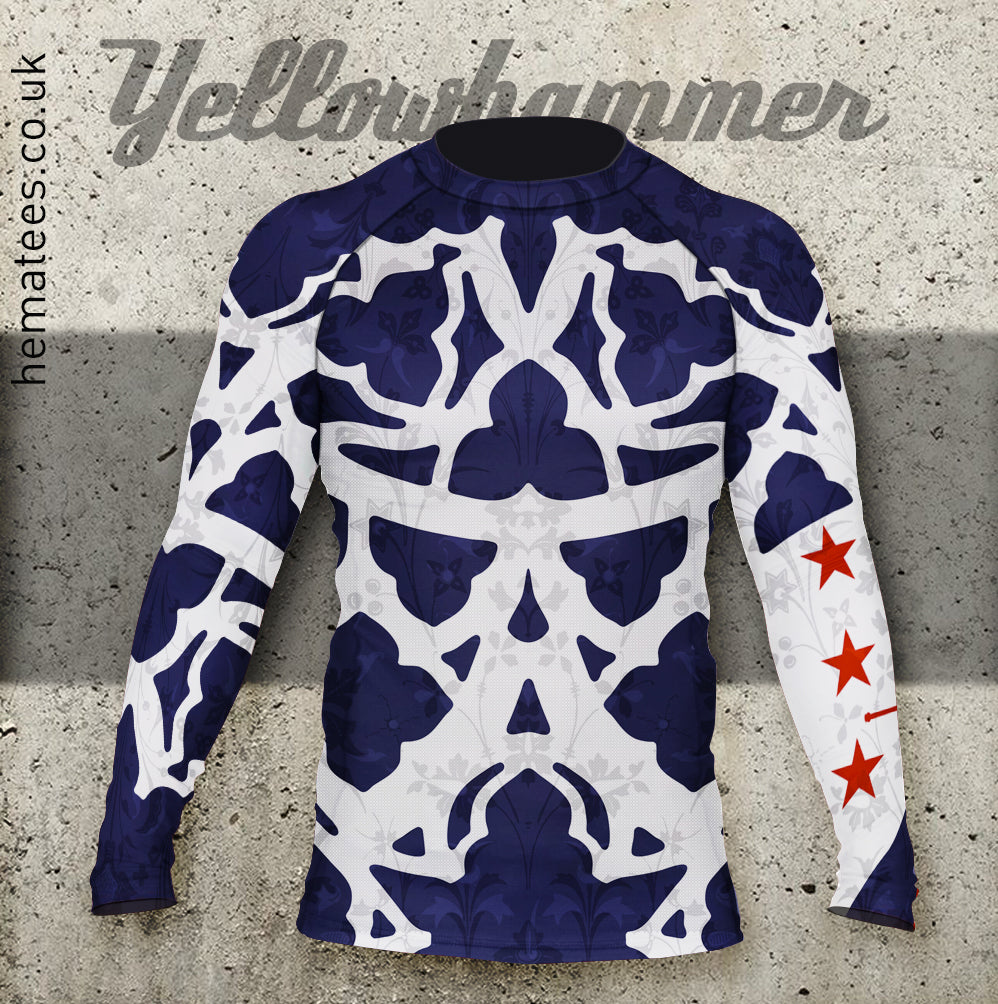 Men's Yellowhammer Custom CKDF Rash Guard