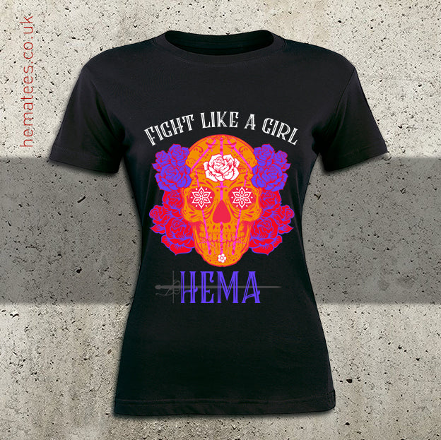 Women's Fight like a Girl Day of the Dead