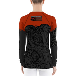 Women's Winged Beasts Rashguards - Hematees