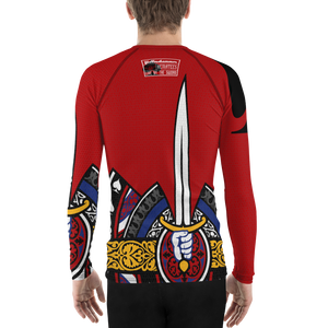 Men's King of Spades Rashguard - Hematees