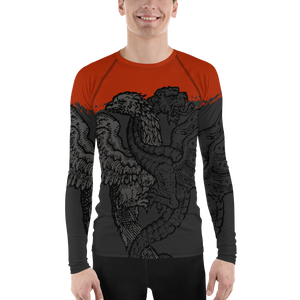 Men's Winged Beasts Rashguard - Hematees