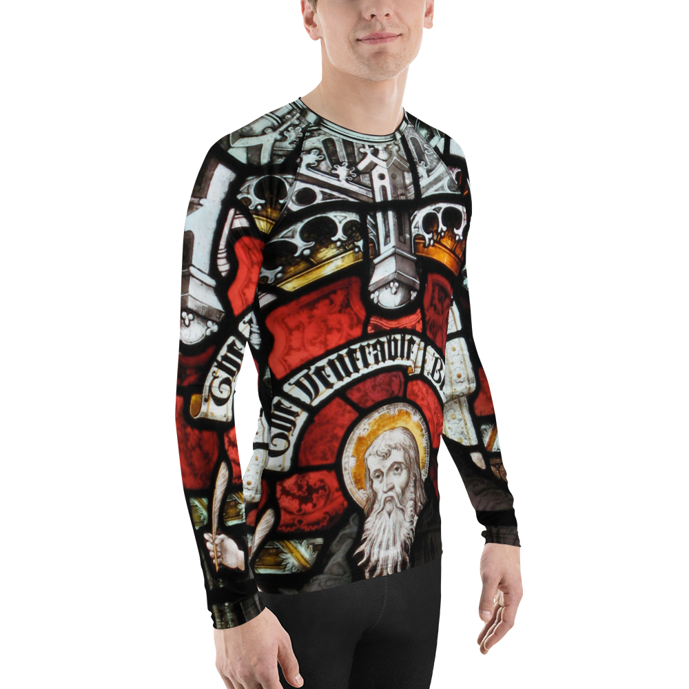 Men's Venerable Bede Rashguard - Hematees