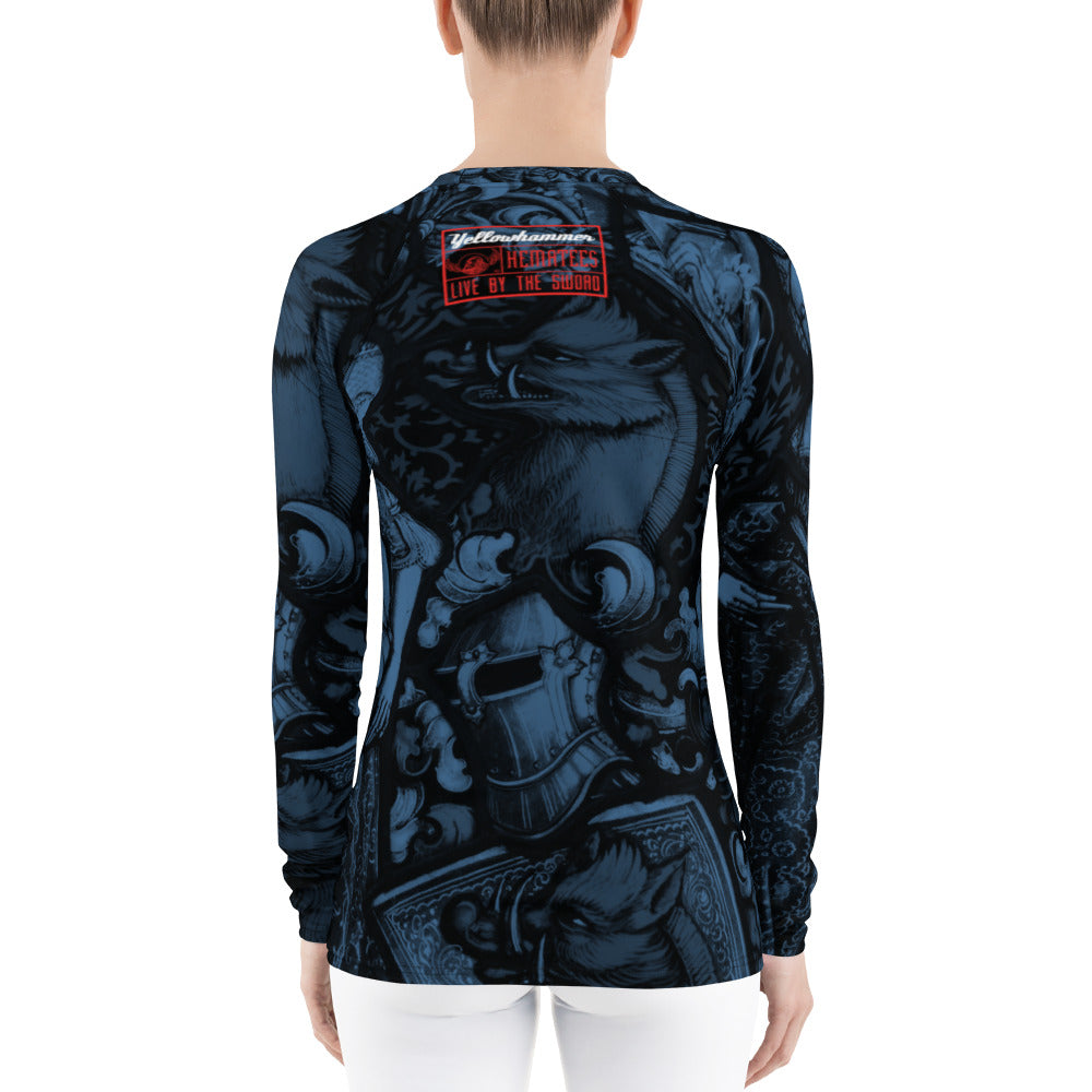 Women's The Red Boar rashguard - Hematees