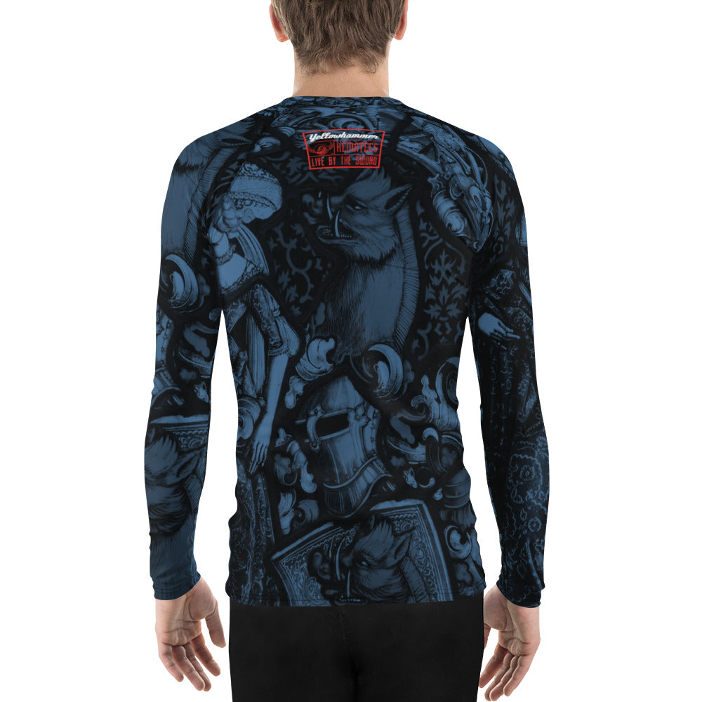 Men's The Red Boar Rashguard - Hematees