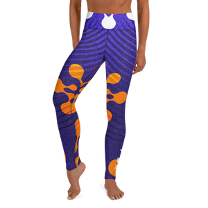 Women's Yellowhammer Alien Indigo leggings - Hematees