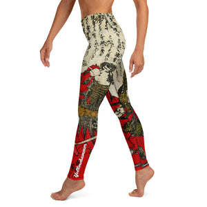 Women's Yellowhammer Samurai leggings - Hematees