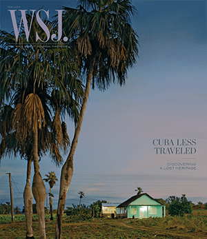 Cuba Travel May 2017 WSJ. Magazine cover