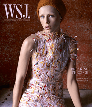Style Tech and Beyond October 2017 WSJ. Magazine cover