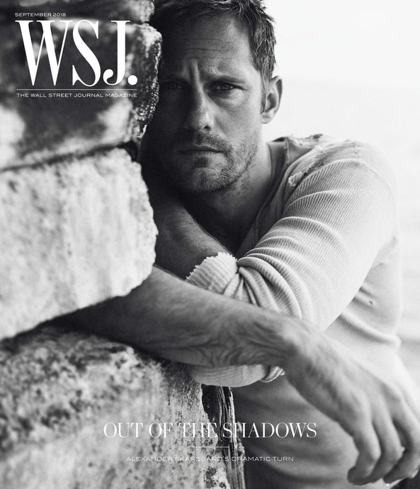 Alexander Skarsgård | WSJ. Magazine cover September (II) 2018