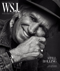 Keith Richards | WSJ. Magazine cover, March ( II ) 2018
