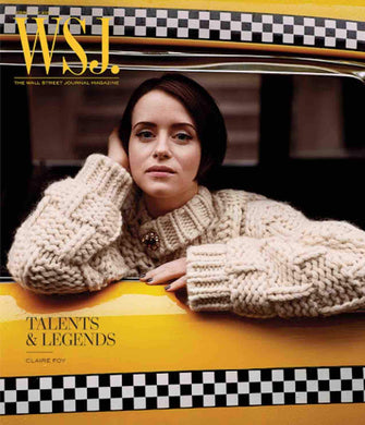 Claire Foy | WSJ. Magazine, cover February 2019