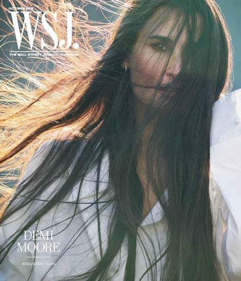 Demi Moore | WSJ. Magazine, October 2019