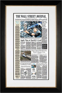 Eagles Win First Super Bowl Title, Feb. 5, 2018 | Black Framed Reprint