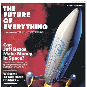 Future of Everything: Space | Special Report cover April 12, 2019