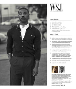 WSJ. Magazine, February 2018 TOC