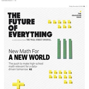 The Education Issue | The Future of Everything, Nov. 13, 2020