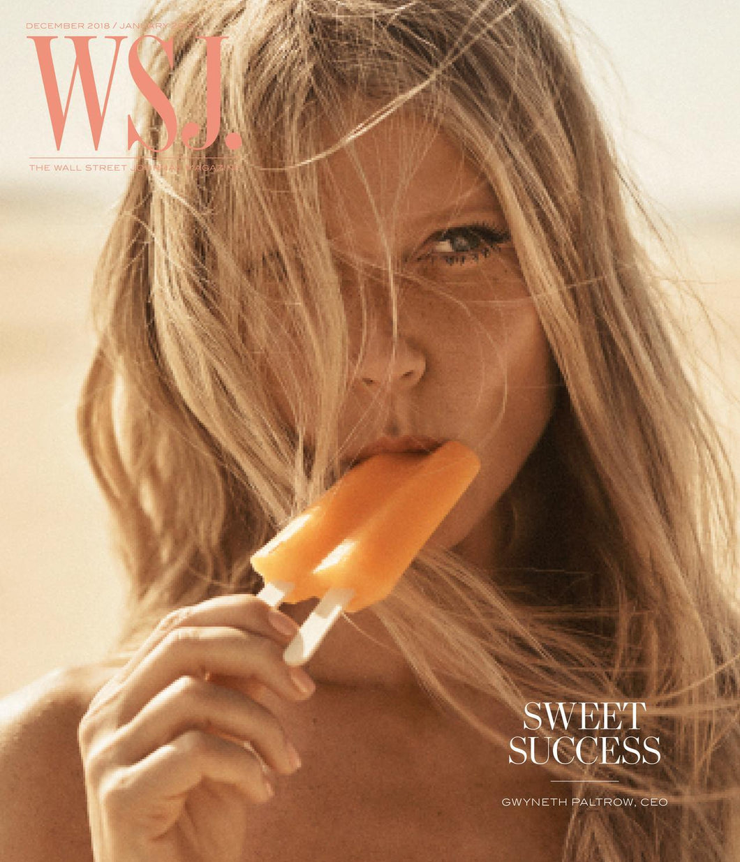 Gwyneth Paltrow | WSJ. Magazine, Dec. 2018 / Jan. 2019
