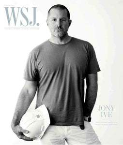 Jony Ive August 2017 WSJ. Magazine cover