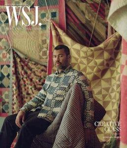 Jordan Peele  | WSJ. Magazine cover March ( II ) 2019