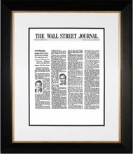 Reagan Defeats Carter | The Wall Street Journal, Framed Article Reprint, Nov. 5, 1980