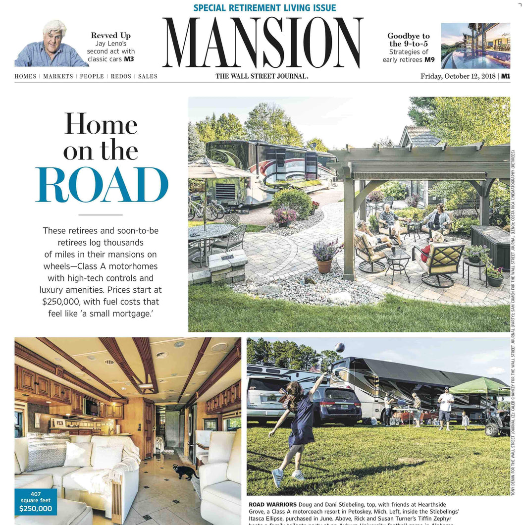 Retirement Living | Mansion Special Report cover Oct 12, 2018