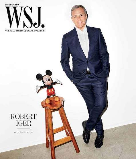 Robert Iger | WSJ. Magazine, October 2019