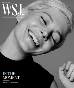 Michelle Williams February 2017 WSJ. Magazine alternate cover