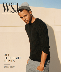 Stephen Curry | WSJ. Magazine, Dec 2016 / Jan 2017