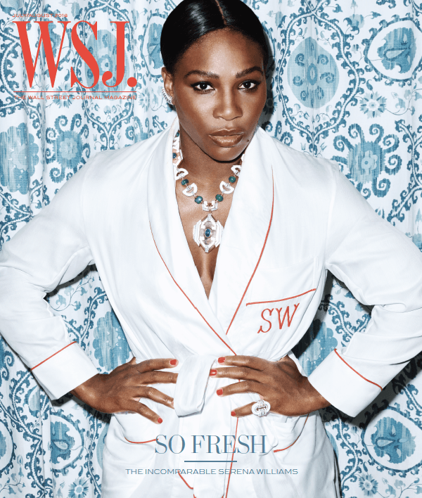 Serena Williams | WSJ. Magazine cover, July/August 2016