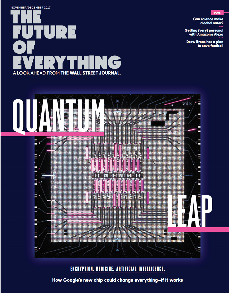 Quantum Computing The Future of Everything - November 2017 cover