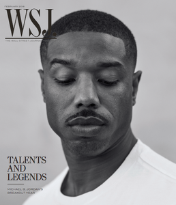 Michael B. Jordan February 2018 WSJ. Magazine cover