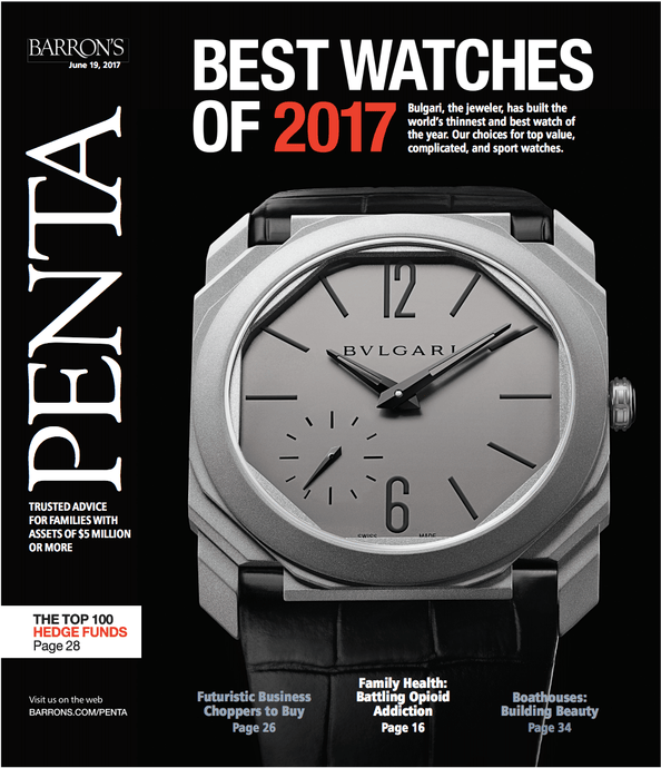 Best Watches of 2017 Penta June 2017 magazine cover