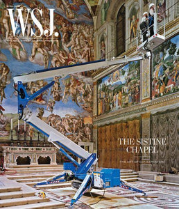 Sistine Chapel  | WSJ. Magazine, April 2019