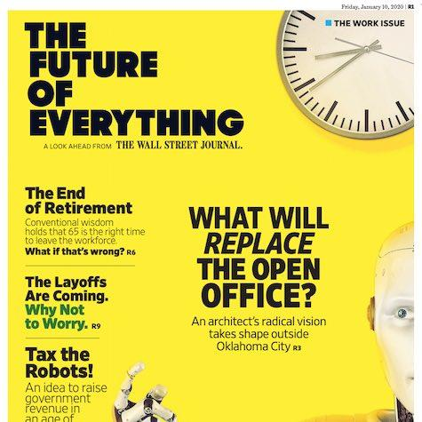 The Work Issue | The Future of Everything, Jan. 10, 2020