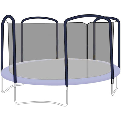 trampoline replacement nets for bounce pro, sportspower and jumpking trampolines