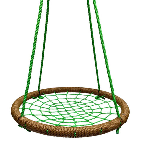 Round Tree Swing Nets - Brown & Green