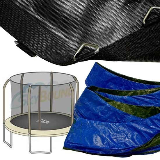 14ft Mat and Pad Combo - Bounce Pro / Sports Power TR-1686-TPR