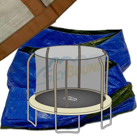 14ft Net and Pad Combo - BouncePro (TR-1686-TPR)