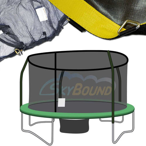 14ft Net and Mat Combo - Orbounder