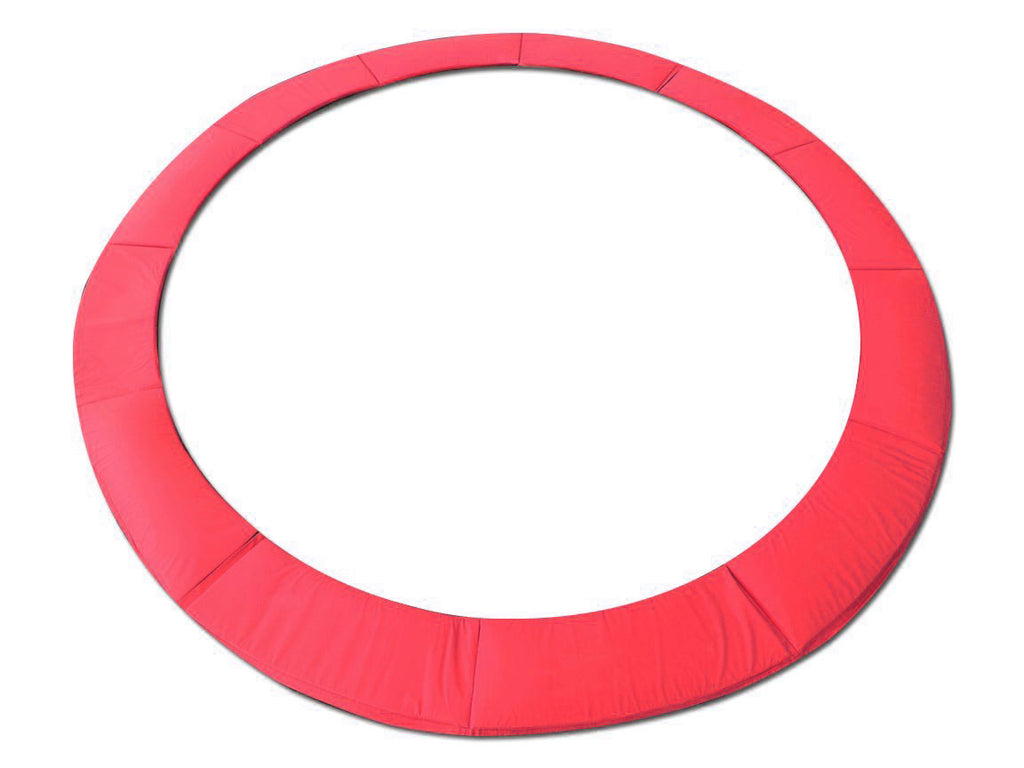 "15 Foot Red Replacement Trampoline Pad (Fits up to 8"" Springs)"