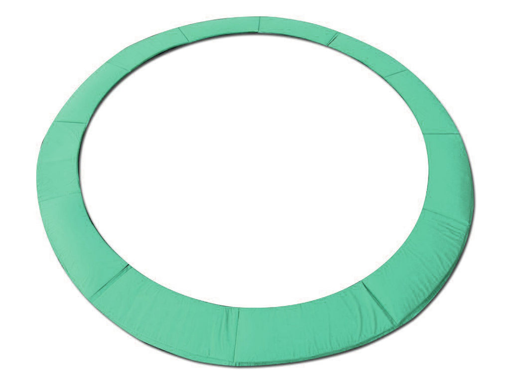 "15 Foot Green Replacement Trampoline Pad (Fits up to 8"" Springs)"