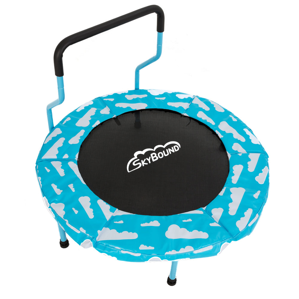 Trampoline Parts Ireland: Children's Mini Trampoline With Handle Bar For Toddlers