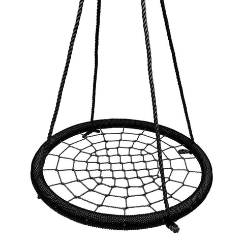 Round Tree Swing Nets - Black & Black