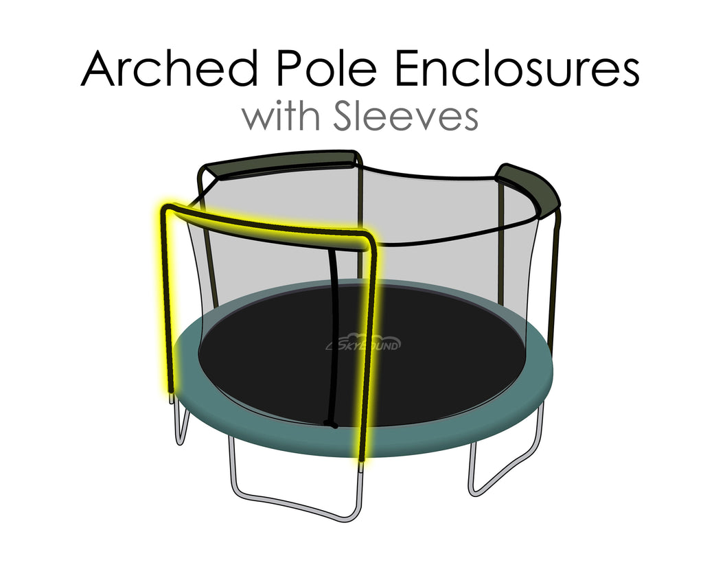 Replacement Net for 14ft Trampolines - Fits 3 Arch Poles